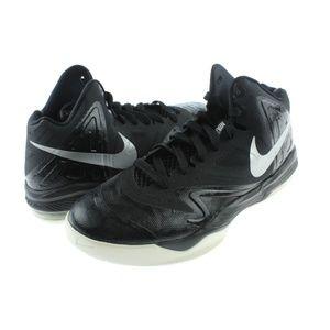 Mens Black White Max Air Basketball Shoes